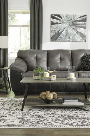 Gregale Slate Sofa and Loveseat - United Furniture Outlet