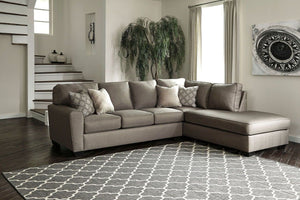 Calicho Casimere Brown Sectional - United Furniture Outlet