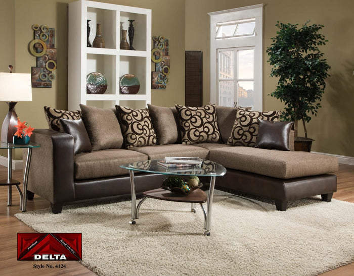 Cowgirl Brown and Object Expresso Sectional