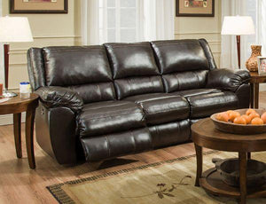Bingo Brown Recliner Leather Sofa and Loveseat - United Furniture Outlet