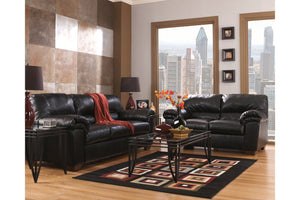 commando black sofa and loveseat - United Furniture Outlet