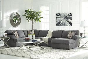 Jayceon Grey Chaise Sectional
