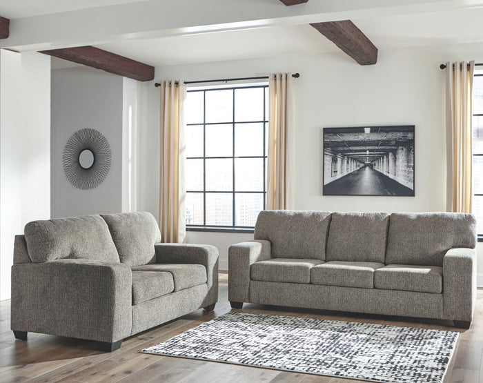 Termoli Light Brown Sofa and Loveseat