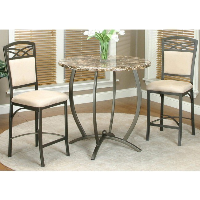 Atlas Counter Height Table with 2 Chairs