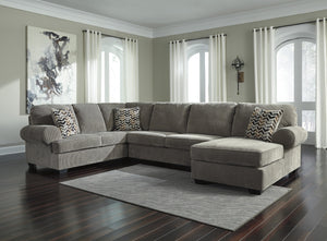 Jinllingsly Grey Sectional - United Furniture Outlet