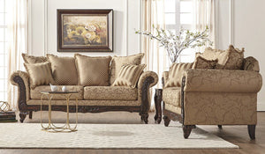 Clarissa Car Sofa and Loveseat - United Furniture Outlet