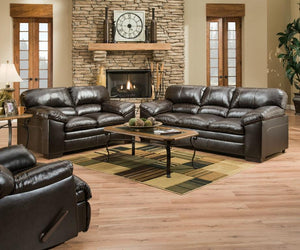 Espresso Sofa and Loveseat - United Furniture Outlet