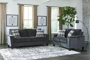 Abinger Grey Sofa and Loveseat Living Room Ashley