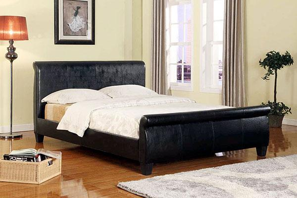 Full Leather Bed