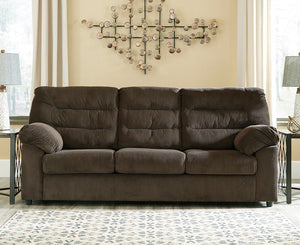 Gosnell Chocolate Sofa and Loveseat - United Furniture Outlet