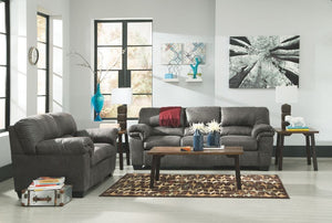 Bladen Slate Sofa and Loveseat Ashley