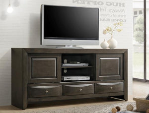 Emily Grey Entertainment Center - United Furniture Outlet