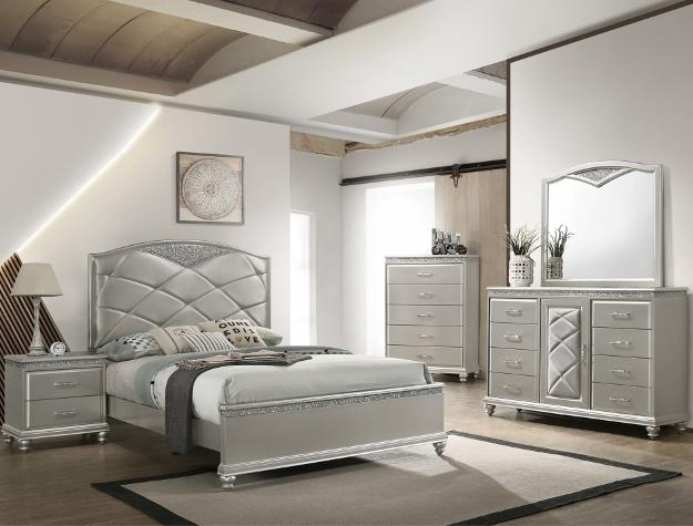Valiant 7 Piece Queen Bedroom Set