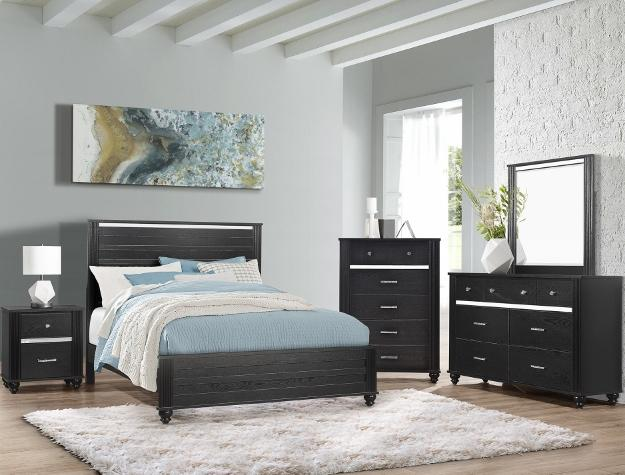 Gaston 7 Piece Queen Bedroom Set
