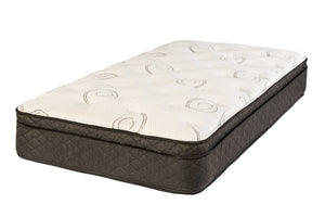 Cobble Hill Eurotop Full Mattress and Box Spring