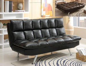 Sundown Adjustable Black Futon - United Furniture Outlet