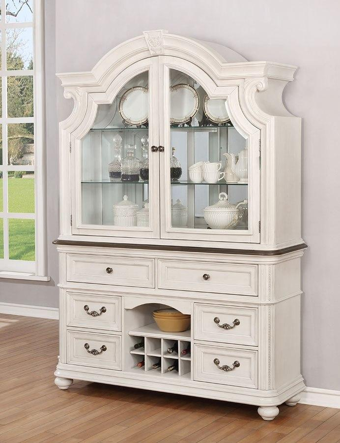 White Buffet and Wine Cellar