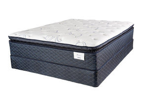 Harlow Pillowtop KING Mattress and Box Spring Symbol Mattress