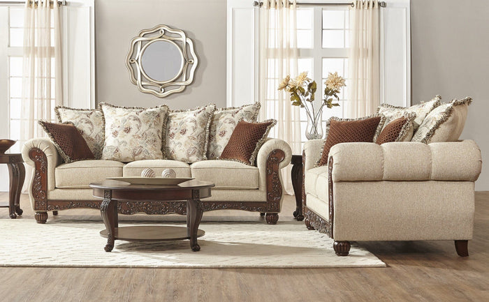 Malibu Canyon Sofa and Loveseat