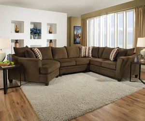 Chestnut Brown Sectional