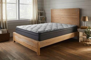 Wrangell Eurotop QUEEN Mattress and Box Spring Corsicana Mattress