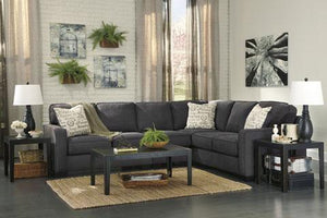 Alenya Charcoal Sectional - United Furniture Outlet