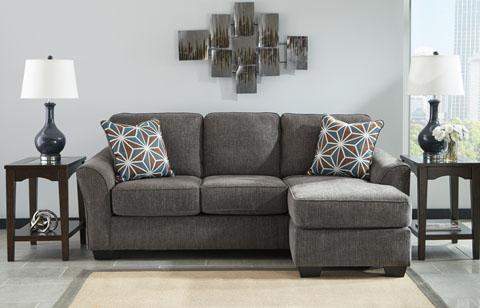 Brise Grey Sofa Chaise