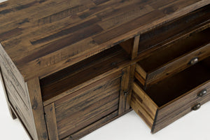 "Artisan's Craft 70"" Media Console - United Furniture Outlet"