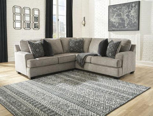 Bovarian Grey Sectional - United Furniture Outlet