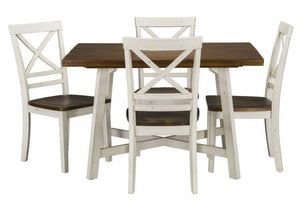 Amelia Table with 4 Chairs - United Furniture Outlet
