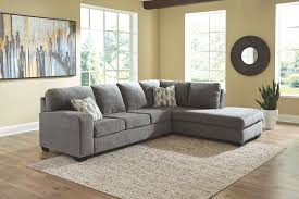 Dalhart Charcoal Gray Sectional - United Furniture Outlet