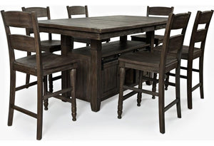 Madison County Table with 6 Chairs - United Furniture Outlet