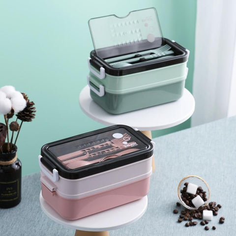 lunch box avec support smartphone