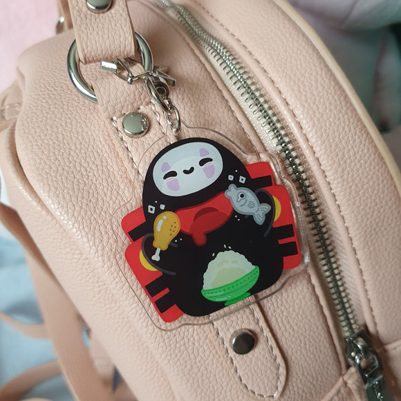 No Face Double-Sided Acrylic Charm