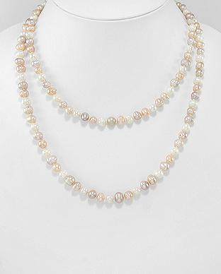 Classic Pearls on Pearls Necklace