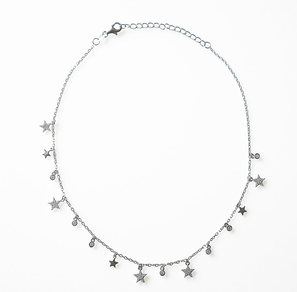Star Glam Short Necklace