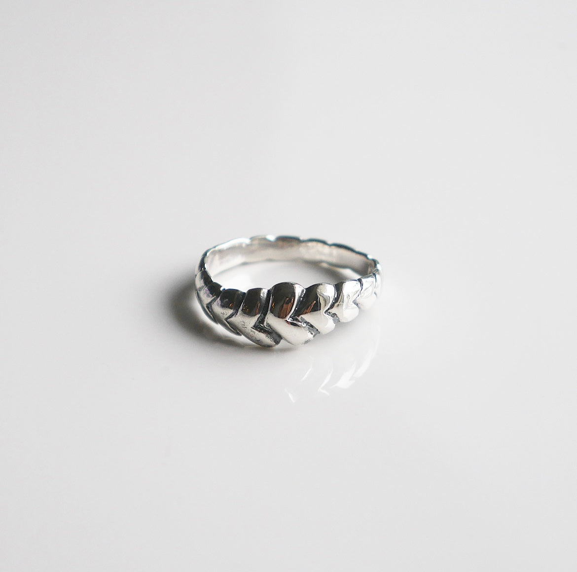 Wrap Around Hearts Ring