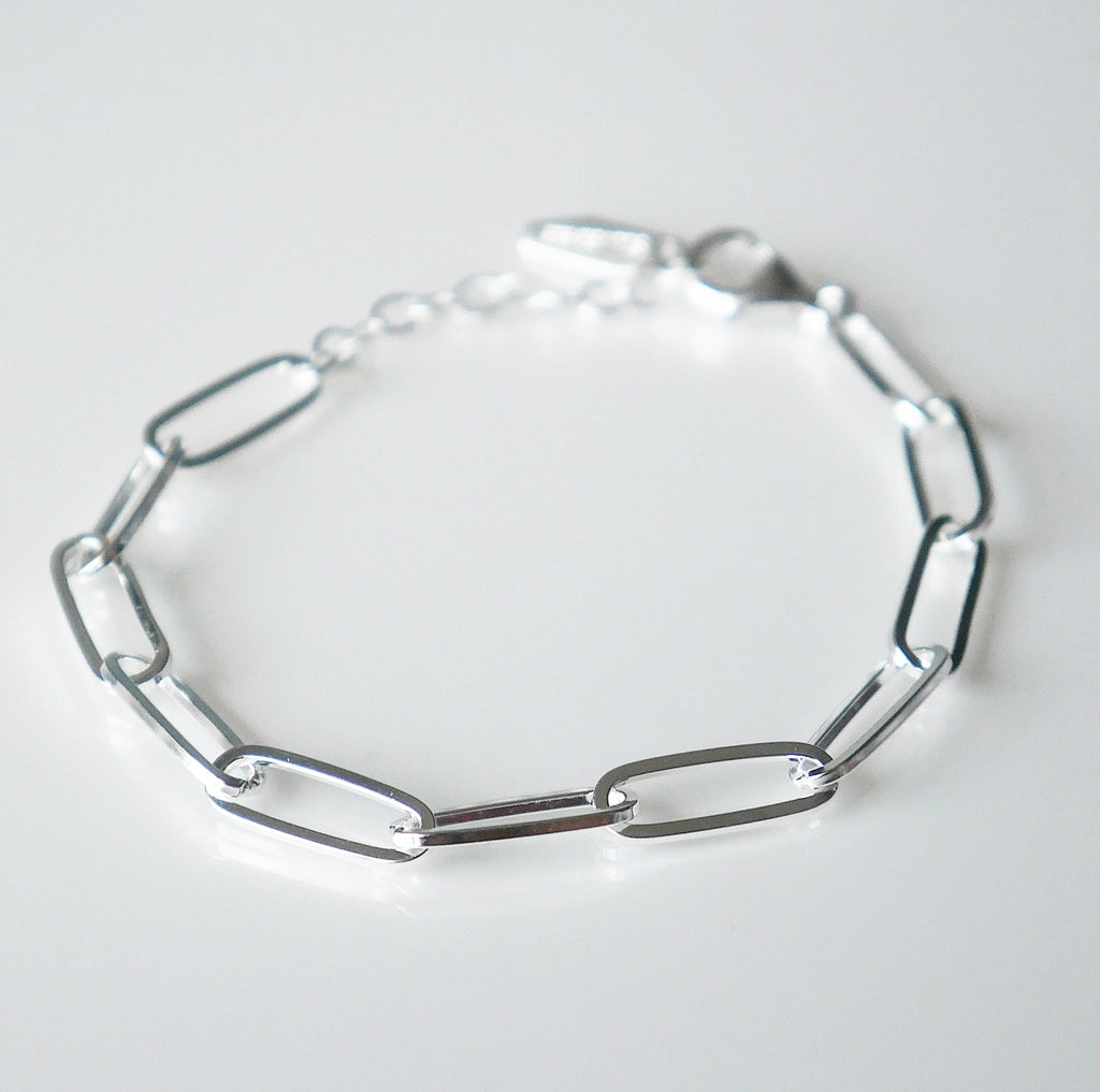 links bracelet, sterling silver links bracelet, Kesley boutique, girlwith3jobs, shopping in Miami, jewelry store in brickell Miami, sterling silver link bracelet, links bracelet in sterling silver .925 sterling silver bracelet