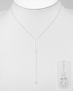 crystal y necklace by Kesley, Girlwith3jobs