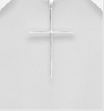 Large  cross necklace by Kesley, Girlwith3jobs