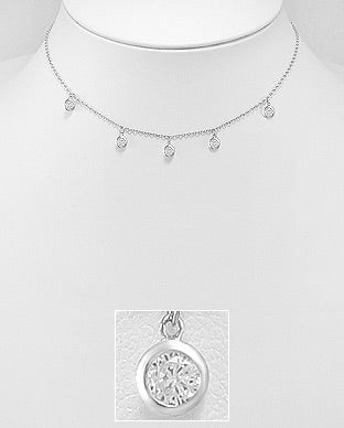 Lux Boho Necklace - Silver