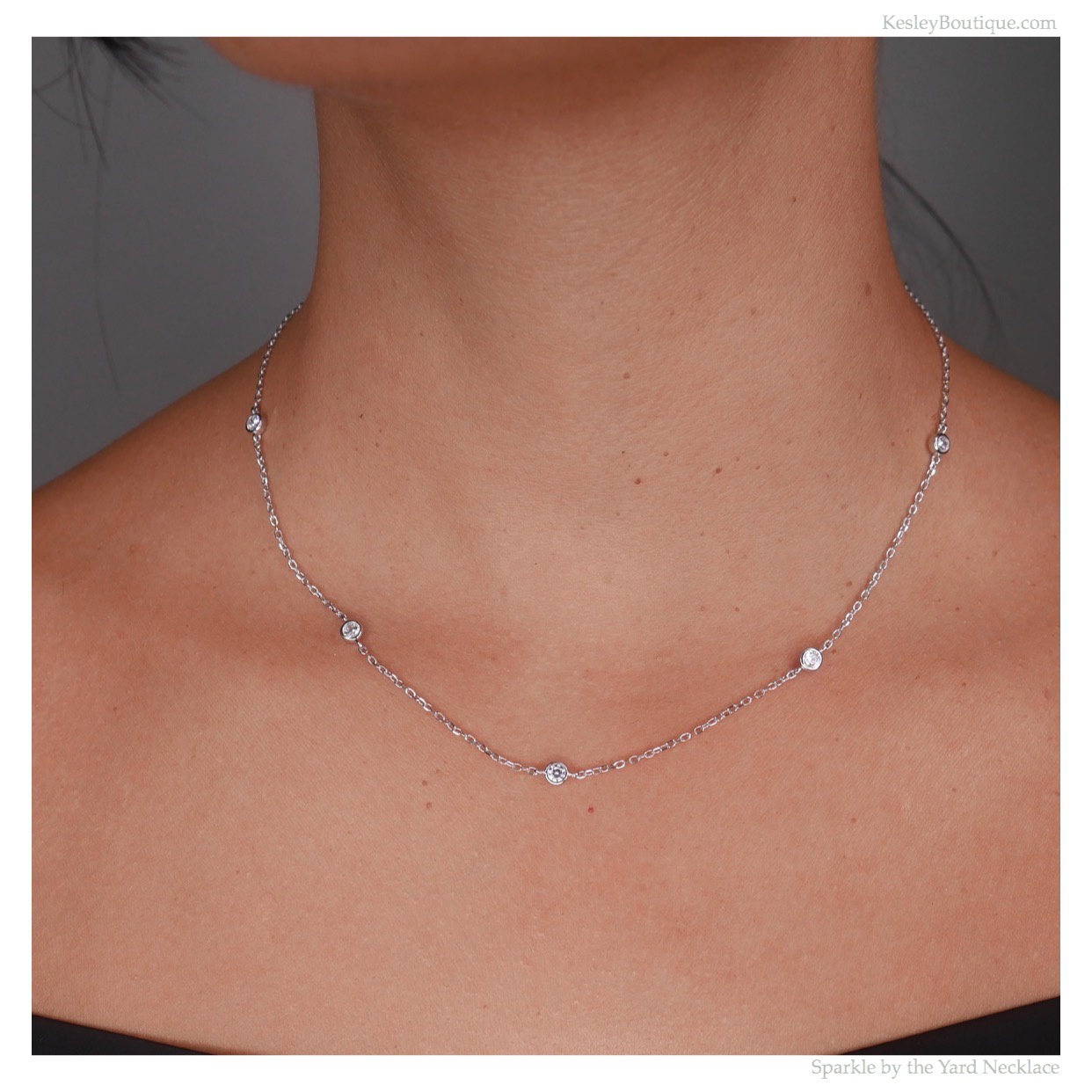 Sparkle by the Yard Necklace
