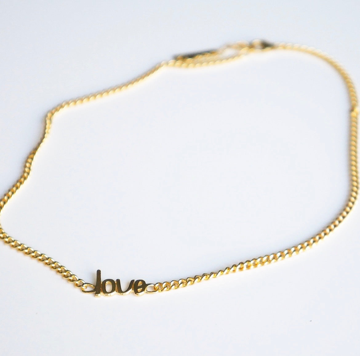 Love Me Hard Chain Necklace