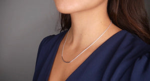 Silver Bar Daily Necklace
