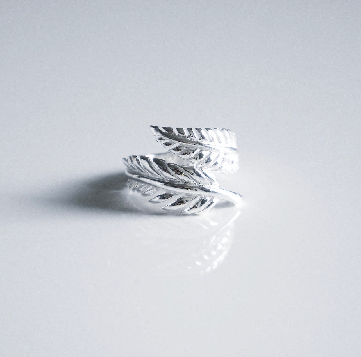 Silver Fall Breeze Ring