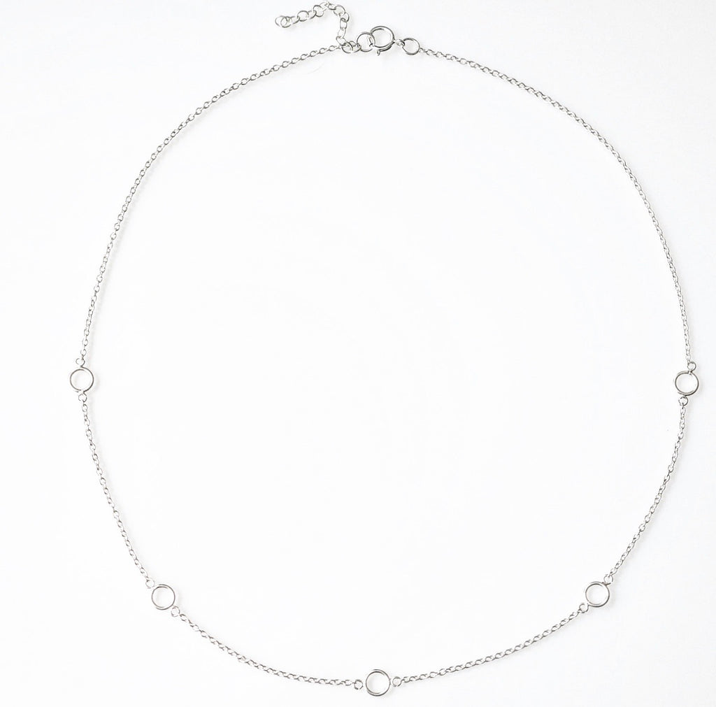 Casual Circles Short Necklace