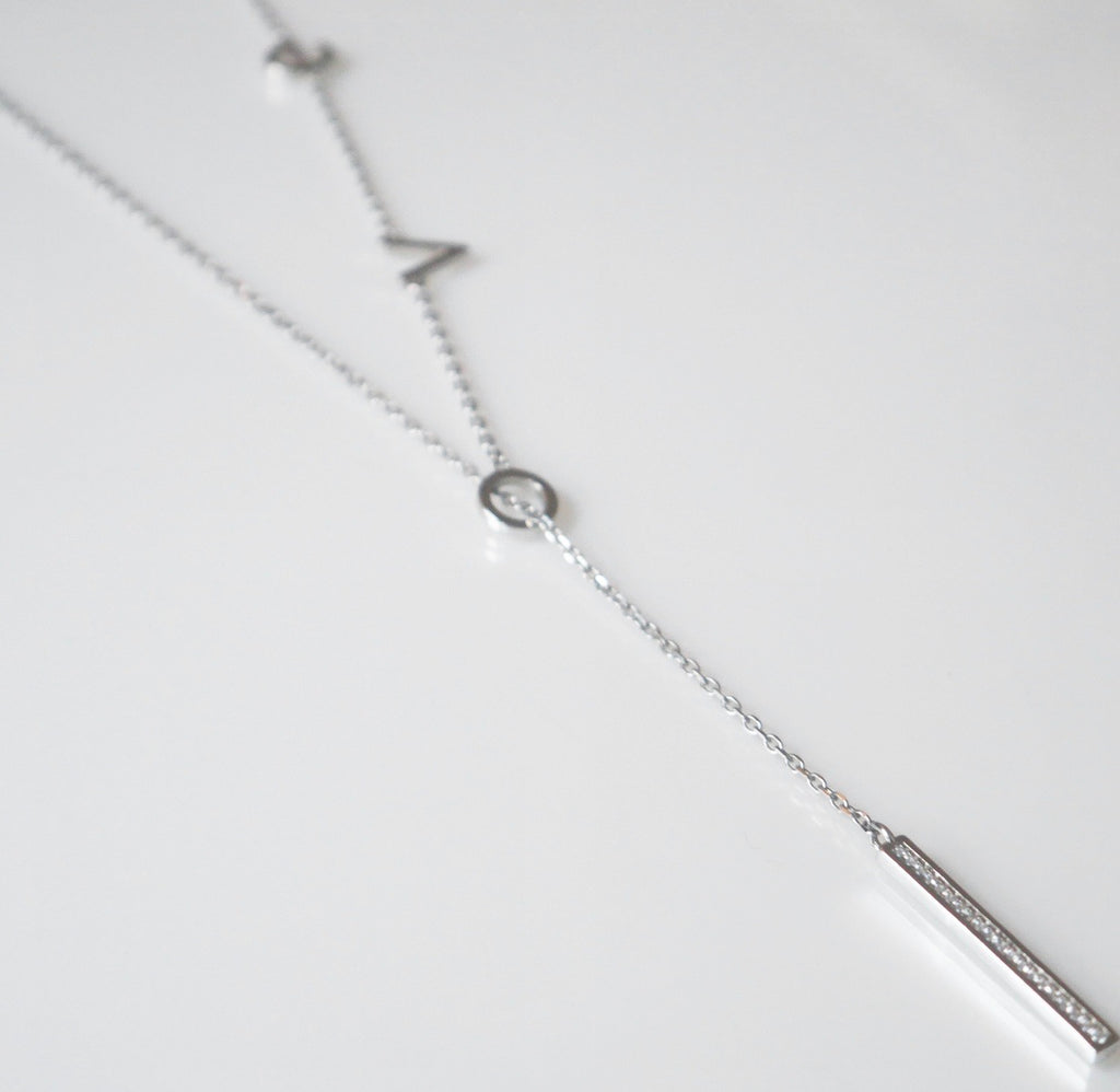 Deep Love Lariat Necklace