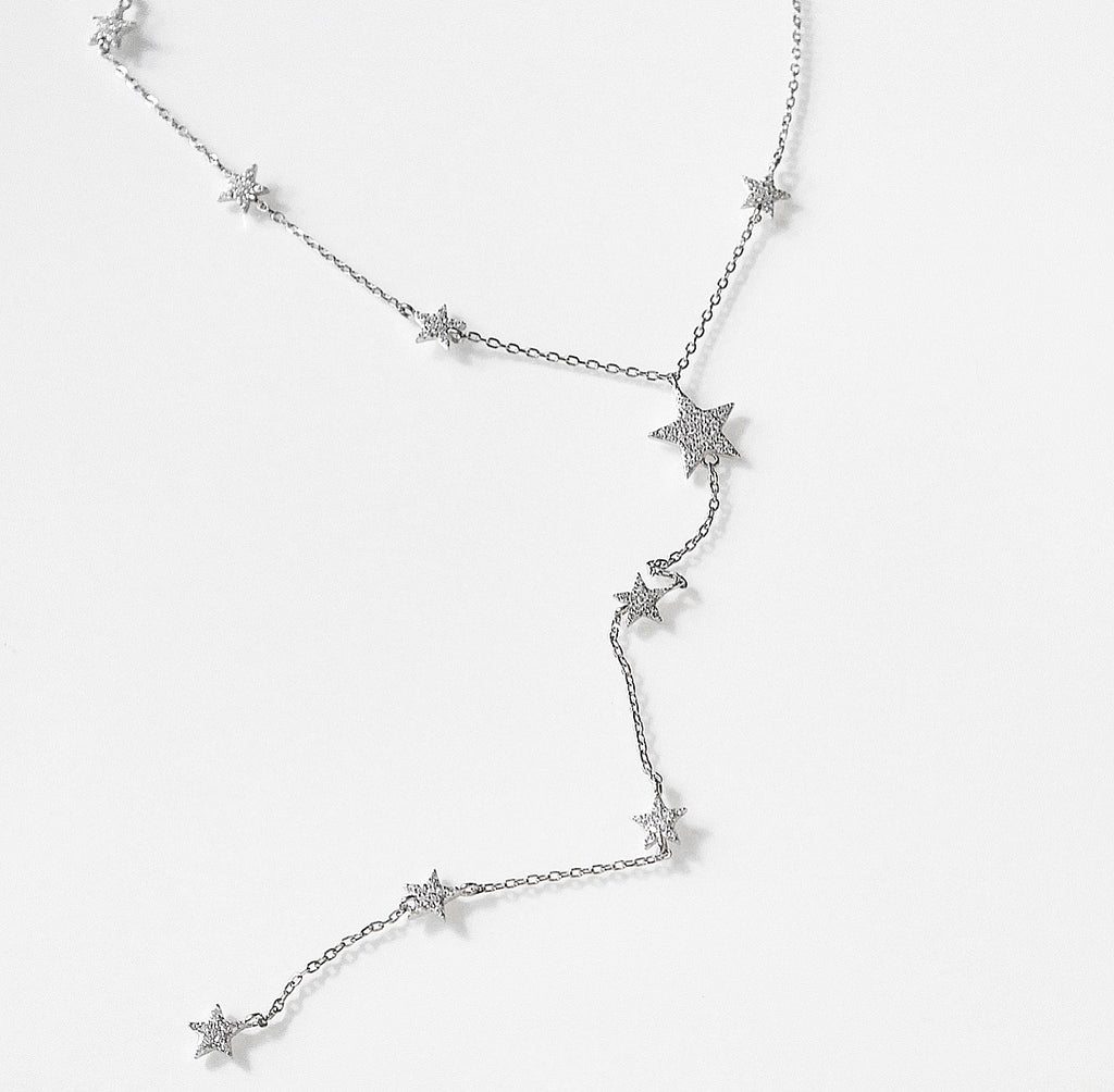 Evening Stars Lariat Necklace