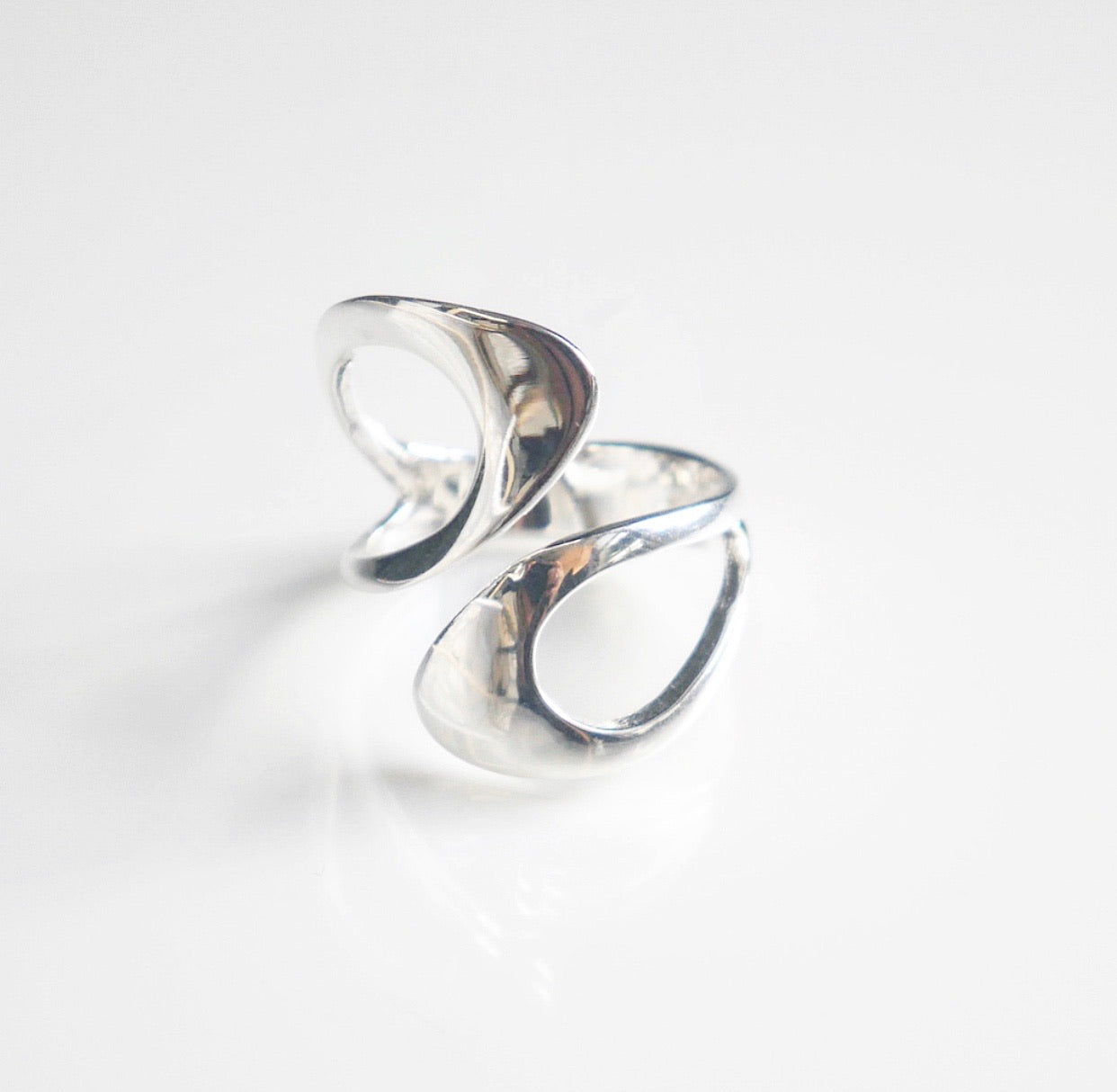 Silk Flair Snake Ring