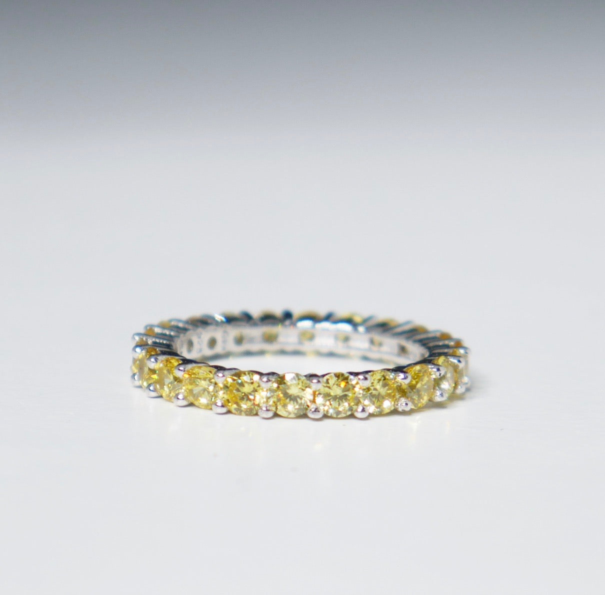 Canary Crystal Ring